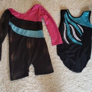 Other - 2 girls size 7/8. Gymnastics outfits